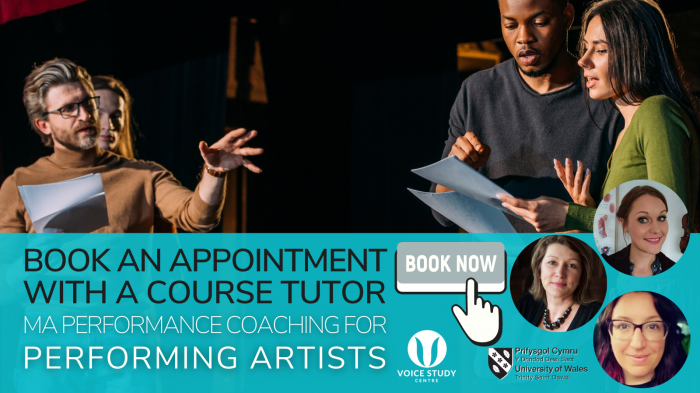 Performance Coaching for Performing Artists MA